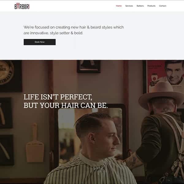Web Design for Hair Stylist